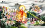 Phật Tam Thánh tiếp dẫn-175D