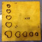 Khuôn đóng hoa văn giấy bo-X118