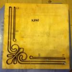 Khuôn tạo góc giấy bo trang trí-X240