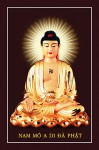 Phật Adida 004 (ép laminater đổ bóng)