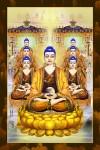 Phật Tam Thánh 207(ép laminater đổ bóng)