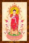 Phật ADIDA 212 (ép laminater đổ bóng)