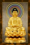 Phật ADIDA 214 (ép laminater đổ bóng)
