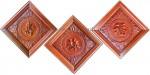Tranh gỗ hương đỏ lào-phúc lộc thọ-tg096