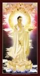 Phật dược sư 909 ( ép foam cán bóng )