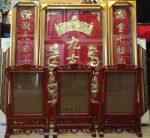 Khung thờ gỗ hương đỏ cao cấp -TG125