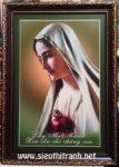 Đức mẹ Maria -C80 ( in dầu cán foam)