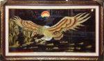 Tranh sơn mài đắp phù điêu, Cơ Đồ Phát Triển -SM243