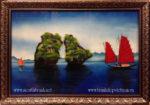 Tranh sơn mài, Vịnh Hạ Long – SM250