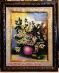 Tranh đá quý ,hoa xếp tĩnh vật – TD135