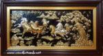 Tranh đồng mạ vàng, Mã Đáo Thành Công A185