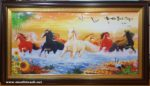 Tranh Bát Mã Hùng Phong – IN058