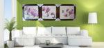 Tranh hiện đại hoa mộc lan -IN060